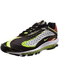best loved 8f1f2 b95a0 Nike Air Max Deluxe – Nero Volt-Habanero Rosso Bianco, AJ7831-