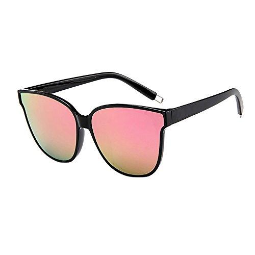 Sonnenbrillen für Frauen Männer Fashion Ladies Designer Übergroße Flat Top Cat Eye Verspiegelte Sonnenbrille
