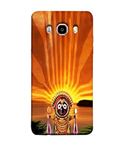 PrintVisa Designer Back Case Cover for Samsung Galaxy On8 Sm-J710Fn/Df (Famous Lord Jagannath Idol Design)
