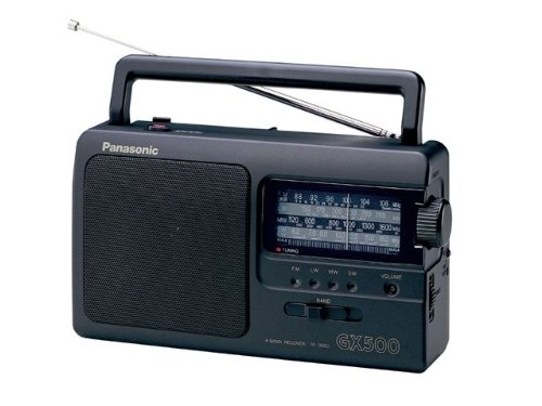 Panasonic RF-3500E9-K Radio transistor Noir