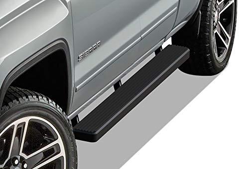 iBoard Trittbretter Seite Schritt für 07-17Chevy/GMC Silverado/Sierra Double Cab