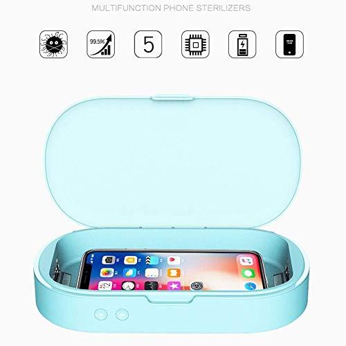XHMCDZ Desinfektionsbox UV-Licht-Reinigungsbox UV-Licht-Reinigungsbox for Handys Nagelknipser Make-up-Bürsten Zahnbürste - Familie Zahnbürste Sanitizer