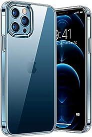 جراب شفاف رفيع للغاية لهاتف iPhone 12/12 Pro/Pro Max and Mini، بسيط، عالي الجودة مع إمكانية الاستخدام