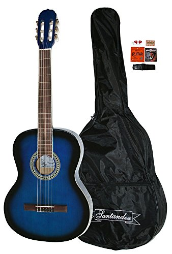 santander-kit-guitare-acoustique-de-concert-4-4-avec-housse-capodastre-sangle-blueb-sunburst
