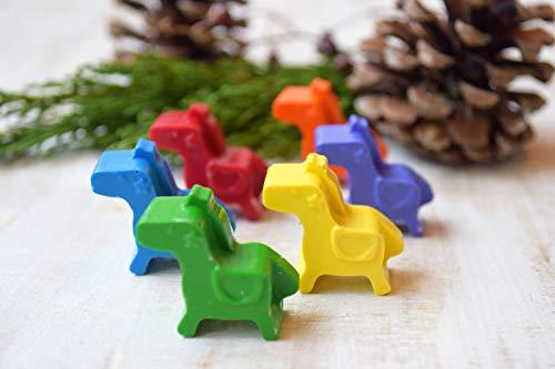 enkreide Handgemachte BuntstifteHandgemachte Buntstifte Pony 6 Kinder Geburtstag bevorzugt Weihnachtsgeschenk ()