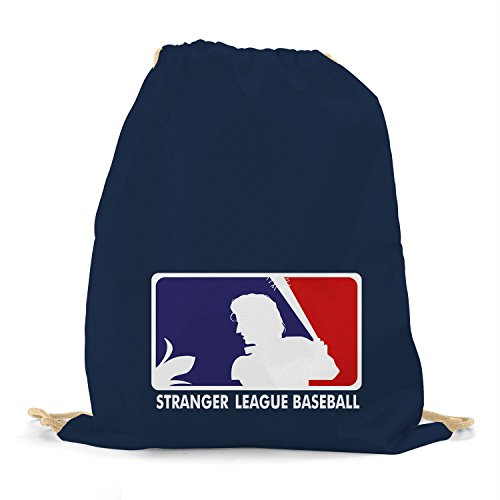 Planet Nerd - Stranger League Baseball - Turnbeutel, dunkelblau (Baseball Tragen)