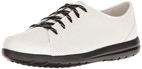 Clarks Jocolin Gia Damen White Perforated Synthetic