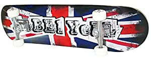 Rebel skateboard no 5 x-trem drapeau roulements aBEC 7