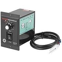 Controlador de velocidad del motor - CA 220V Regulador de velocidad del motor hacia adelante y hacia atrás para dispositivos de control de velocidad, 400W