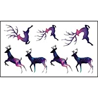 Waterproof Temporary Tattoo Sticker on body Deer tatto stickers