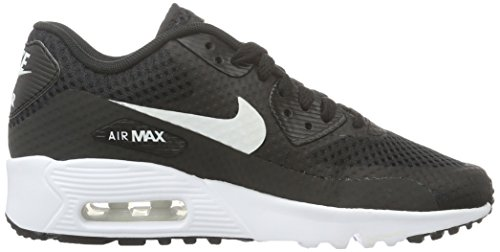 Nike Jungen Air Max 90 Br Gs Trainingsschuhe Multicolore (Nero/Bianco)