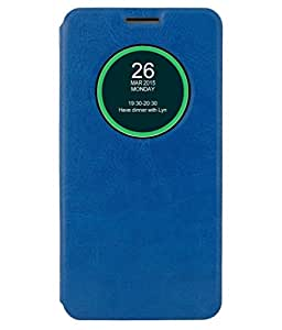 ZYNK CASE FLIP COVER BLUE FOR MEIZU M3 NOTE