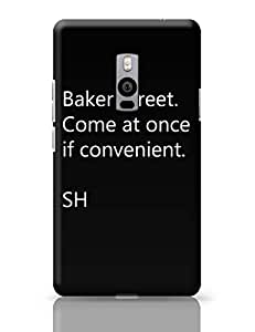 PosterGuy OnePlus Two Case Cover - Baker Street | Designed by: Parakh Arora