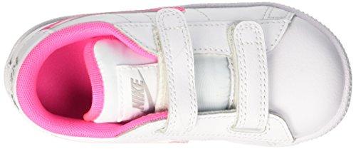 Nike - Tennis Classic (TDV) - Chaussures Du Nouveau-Né, bébé-fille Blanc / Rosa / Grey (Blanc / Pink Pow-Wolf Grey)