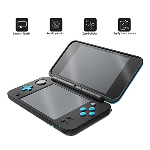 Protection écran pour New Nintendo 2DS XL [3 Packs]- Younik 0.125mm/4H Film d'Écran HD Ultra-Transparent pour Nintendo New 2DS XL 2017