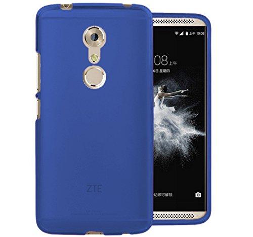 TBOC® Blau Gel TPU Hülle für ZTE Axon 7 Mini (5.2 Zoll) Ultradünn Flexibel Silikonhülle