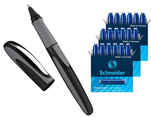 100er Pack Füllfederhalter Tintenpatronen Refills Verfügbar in Blau Schwarz