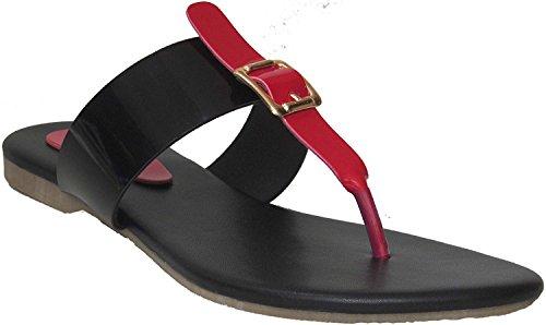 Classy Red Buckle Slipper | Women Slipper | Girl Slipper | Classy Slipper| flats | slipper for women