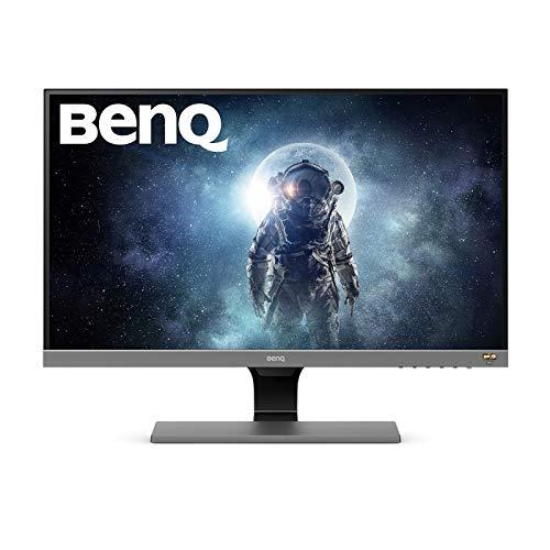 BenQ EW277HDR Monitor per Intrattenimento Video, 27 Pollici HDR (FHD), VA, 93% DCI-P3, 100% Rec.709, Eye-Care, Sensore Brightness Intelligence, HDMI, VGA