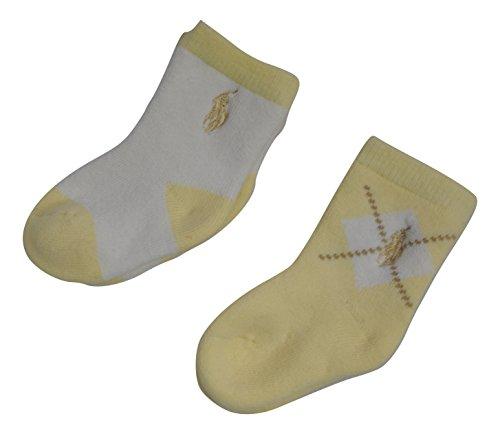 Ralph Lauren Baby Jungen (0-24 Monate) Socken Gelb gelb - Baby Socken Ralph Lauren Jungen