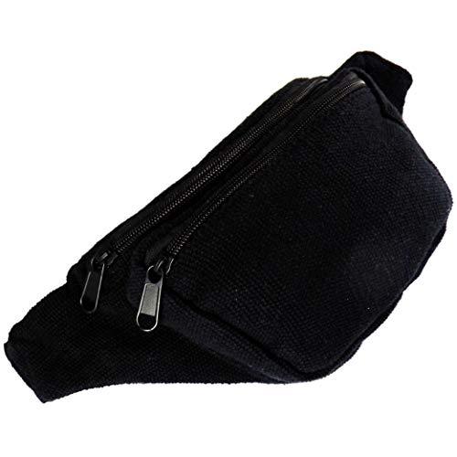 AKIBA Riñonera De Moda Bolsa De Cintura Ajustable
