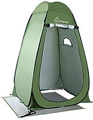 WolfWise Tienda de Campaña Tent Abrir Cerrar Automáticamente Pop Up Portable Sirve Para Camping Playa Bosques