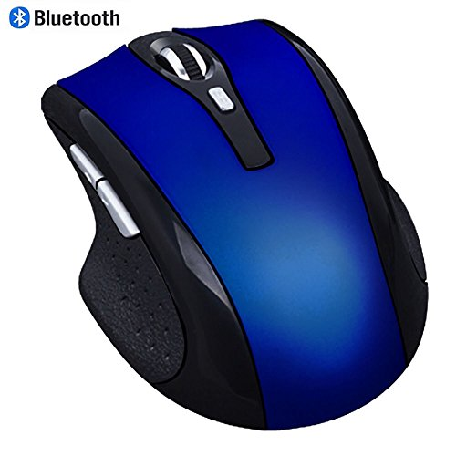 Preisvergleich Produktbild Bluetooth Mouse,  EONANT 3.0 Portable Maus mit Wiederaufladbare Wireless USB Maus Leise und Ruhig Click für Notebook,  PC,  Laptop,  Computer,  Windows / Android Tablet,  Macbook (Blau)