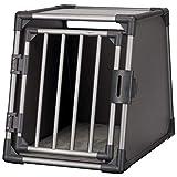 Trixie vervoersbox Aluminium grafiet M 74x55x61 cm