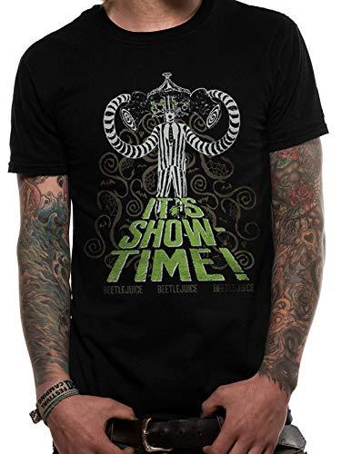 Beetlejuice It's Showtime T-Shirt, Men's Black
