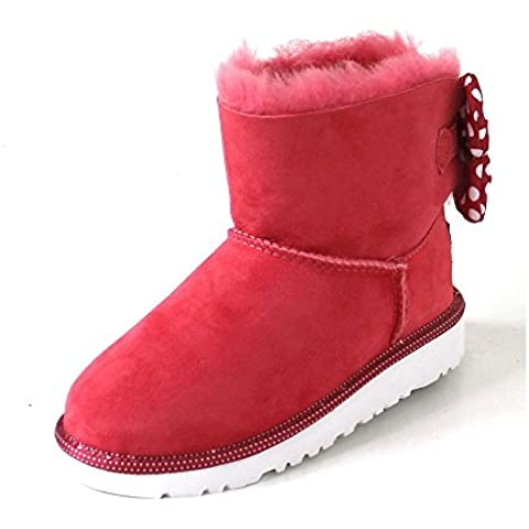 UGG K Sweetie Bow red
