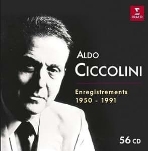 Aldo Ciccolini : Enregistrements EMI 1950-1991 (Coffret 56 CD)