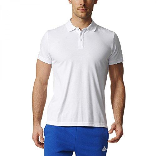 Adidas Ess Base Polo Shirt Tennis, Herren white