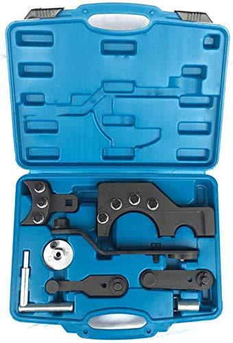 XianXiu Profil Zahnriemen Werkzeug Satz Zahnriemen Motor Nockenwellen Einstellwerkzeug Set aus robustem Carbonstahl für VW T5 Touareg TDI -DEU mit Werkzeugkoffer