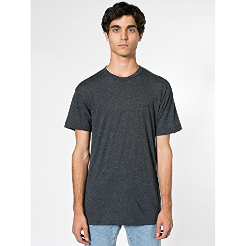 american-apparel-unisex-t-shirt-mit-rundhalsausschnitt-kurzarm-large-schwarz-meliert