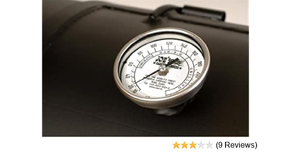 "Thermometer Edelstahl 3/"" für JOE`S BBQ Smoker"