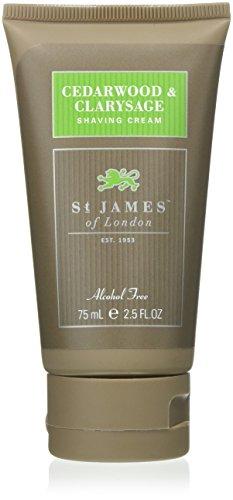 Essential Shave Cream (St James of London Cedarwood & Clarysage Shaving Cream Tube)