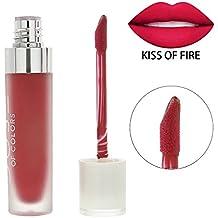 topbeauty FECHA de larga duración Liquid Lipstick Matte Lipstick Lipgloss no Vara sobre la copa Pintalabios