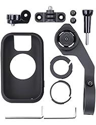 XCSOURCE® Road / Mountain Bike Lenker Mount Bracket Kit + Radfahren GPS schützende Silikon Hülle für Polar V650 OS870
