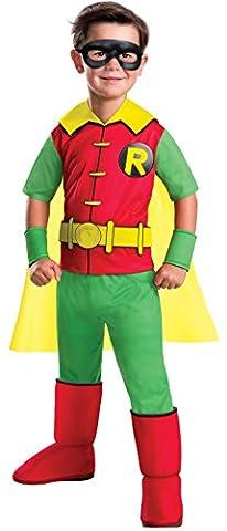 Red Robin Costume Dc - DC Comics Robin Deluxe Child Costume
