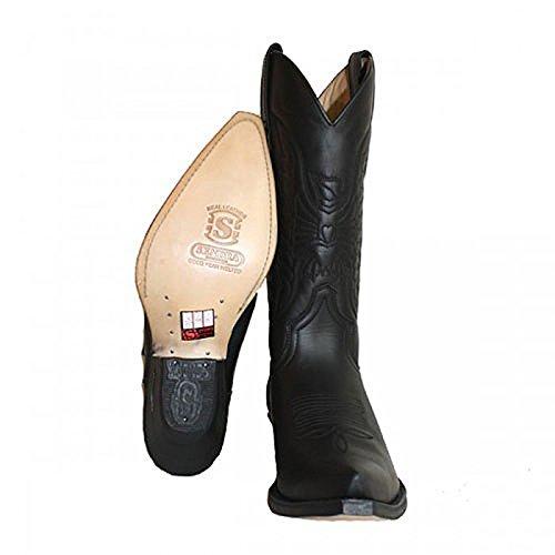 Sendra 2073, Western Boots Black