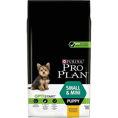 PRO PLAN Small & Mini Puppy avec OPTISTART Riche en Poulet - 7 KG - Croquettes pour chiots de petite taille