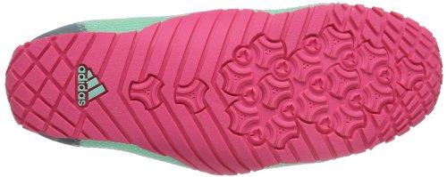 adidas Performance Kurobe K D66758 Mädchen Outdoor Fitnessschuhe Türkis (Bahia Mint S14/Chalk 2/Bahia Pink S14)