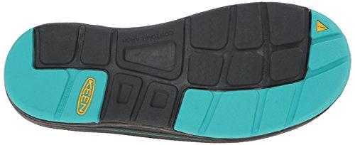 Keen Uneek 8mm Rock Tessile Sandalo BLACK/LAGOON