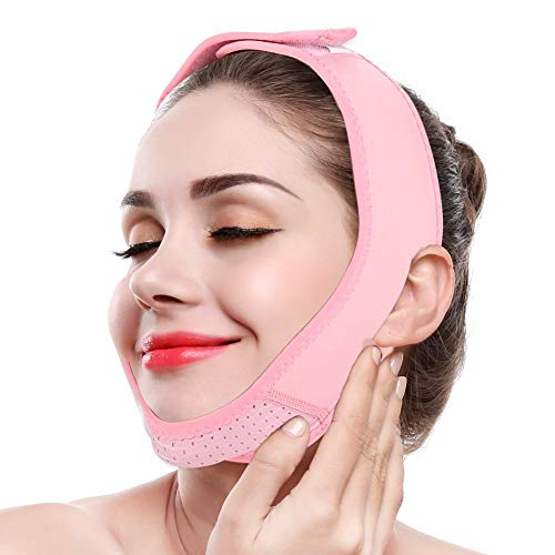 Miji Face Slimming Massage Belt, Facial Lifting Mask Double Chin Care Weight Loss Thin Massager Beauty Care Tool - Beauty Care Tools