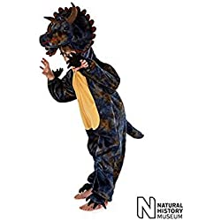 Natural History Museum Triceratops Fancy Dress Costume (Official Licensed) - Kids Costume 5 - 7 years