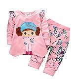 Zeside Mädchen-Kleidungsset, Puppen-Set für Mädchen, Jungen, lässiger Komfort, lässiger Anzug,...
