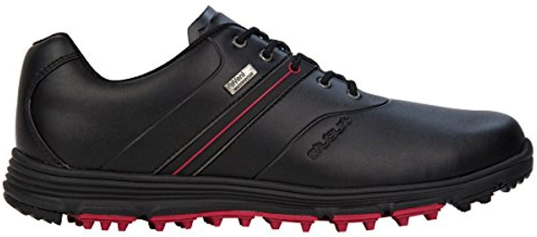 Stuburt - Zapatos de golf para hombre blanco blanco