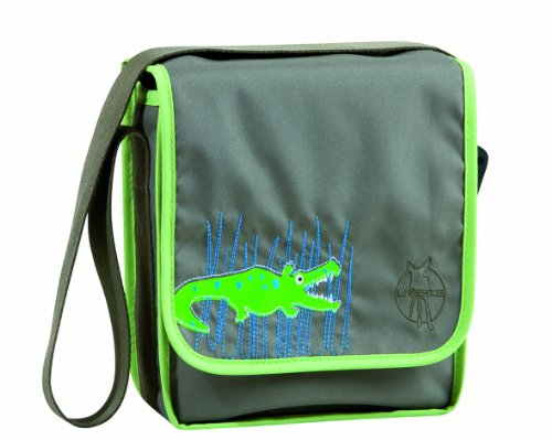 Lässig Mini Messenger Bag Kindergartentasche, Crocodile granny