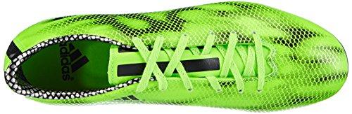 adidas F10 FG Herren Fußballschuhe Grün (Solar Green/Core Black/Core Black)