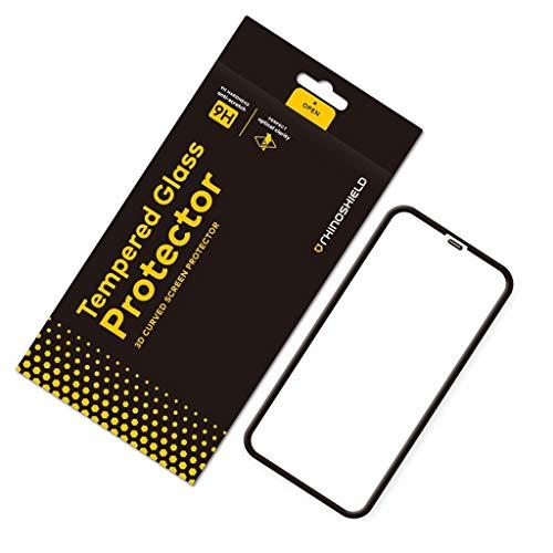 RhinoShield Protection écran Verre trempé pour iPhone 11 - Résistance maximale aux Rayures et aux Traces de Doigt